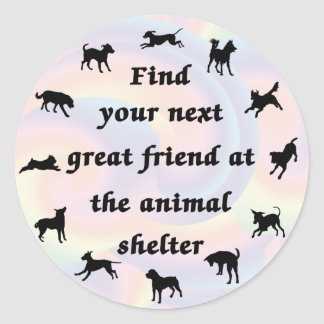 Next Great Friend Round Sticker