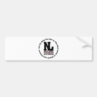 Next Level Fitness Studio Emblem3 Bumper Sticker