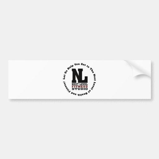 Next Level Fitness Studio Emblem3 Bumper Stickers