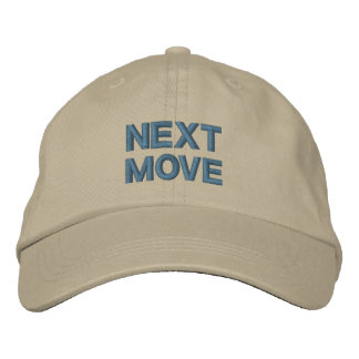 NEXT MOVE cap Embroidered Hats