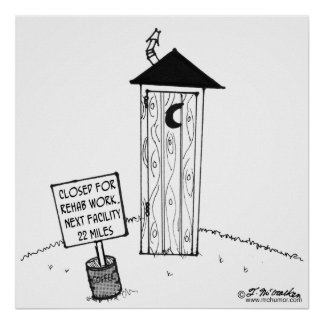 Next Outhouse 22 Miles Poster