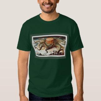 Next! - Standard Oil depicted as devouring octopus Shirt