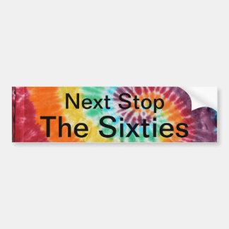 Next Stp the Sixties Bumper Sticker