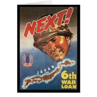 Next World War 2 Greeting Card