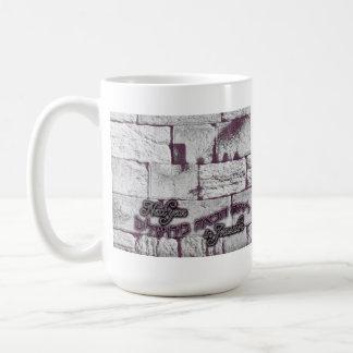 Next Year in Jerusalem Basic White Mug
