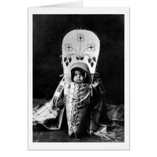 Nez Perce Baby Greeting Card