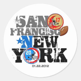 NFC Football 2012 Score Sticker 2