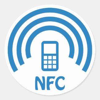 NFC logo Classic Round Sticker
