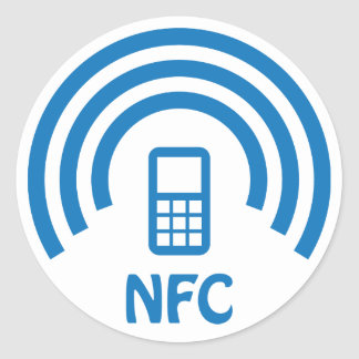 NFC logo Round Sticker