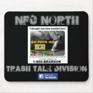 "NFC North ""Trash Talk Division"" Mouse Pad"