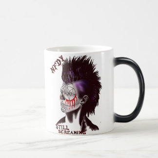 NFDY Mohawk Logo Morphing Mug! Morphing Mug