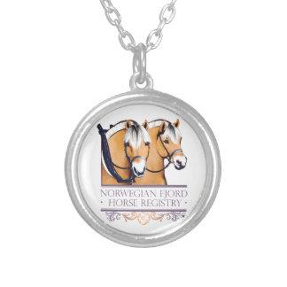 NFHR Logo Women's Round Necklace