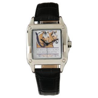 NFHR Logo Womens Watch Leather Watchband