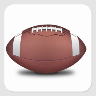 NFL ARE YOU READY FOR SOME FOOTBALL SPORTS TEAM AT SQUARE STICKER