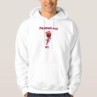 """NFS """"Pigmeantarial"""" Basic Hooded Sweatshirt"""