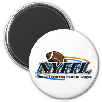 Nfusion Youth Flag Football Nyffl Under 14 6 Cm Round Magnet