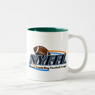 Nfusion Youth Flag Football Nyffl Under 14 Two-Tone Coffee Mug