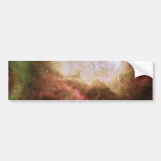 NGC2080 The Ghost Head Nebula Car Bumper Sticker
