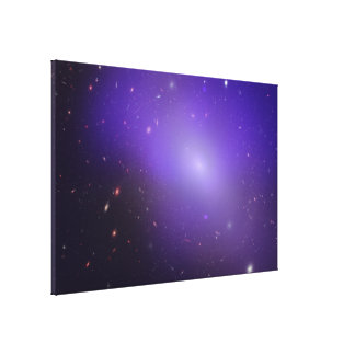 NGC 1132 - Chandra X-Ray Observatory:Hubble Space Canvas Print