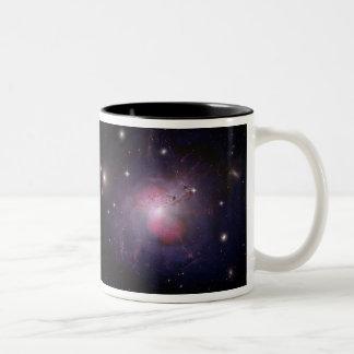NGC 1275 Perseus cD galaxy Two-Tone Mug
