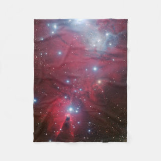 NGC 2264 and the Christmas Tree cluster Fleece Blanket
