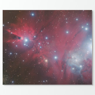 NGC 2264 and the Christmas Tree cluster Wrapping Paper