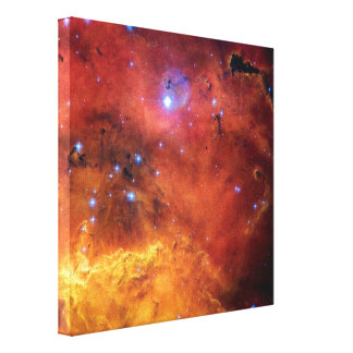 NGC 2467 Star Forming Nebula Stretched Canvas Prints