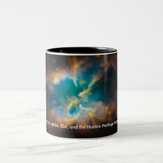 NGC 2818 / NASA / Hubble Heritage Team Two-Tone Coffee Mug
