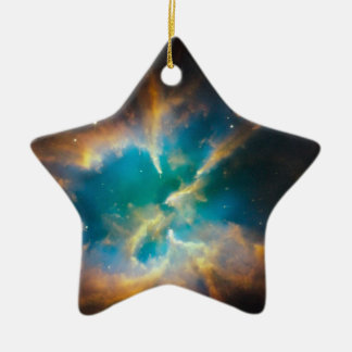 NGC 2818 Planetary nebula glowing Christmas Ornament