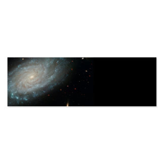 NGC 3370, deep space, spiral galaxy Pack Of Skinny Business Cards