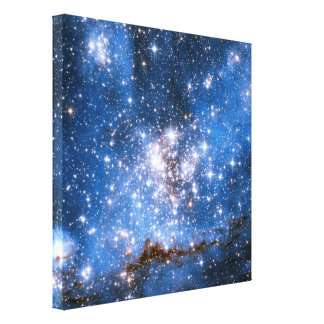 NGC 346 Infant Stars Gallery Wrapped Canvas