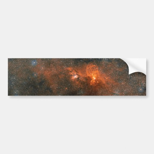 NGC 3603 Open Star Cluster Bumper Sticker