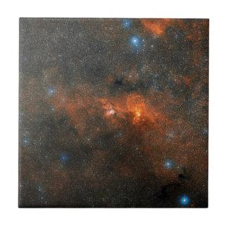 NGC 3603 Open Star Cluster Tile