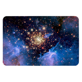 NGC 3603 Star Cluster Rectangular Photo Magnet