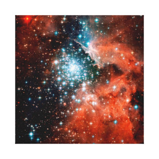 NGC 3603 Star Forming Region Canvas Prints