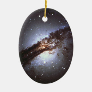NGC 5128  Centaurus A Galaxy NASA Christmas Ornament