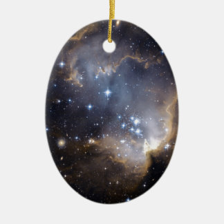 NGC 602 bright stars NASA Christmas Ornament