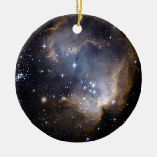NGC 602 bright stars NASA Christmas Ornament