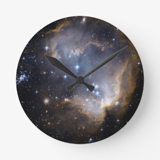 NGC 602 bright stars NASA Round Clock