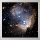 NGC 602, N90 POSTER