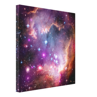 NGC 602 Star Formation Stretched Canvas Prints
