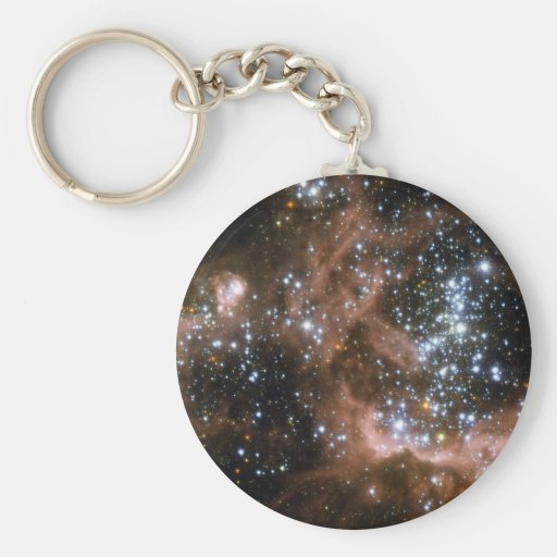 NGC 604 Galactic brown star clouds Key Chains