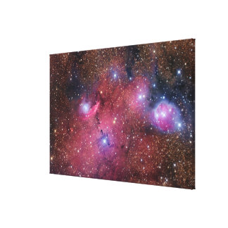 NGC 6559 Nebula in Sagittarius Canvas Print