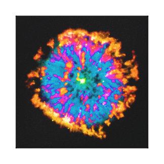 NGC 6751 Planetary Nebula Pop Art Stretched Canvas Prints