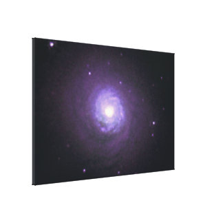 NGC 7252- Spiral Disk and Globular Star Clusters Gallery Wrap Canvas