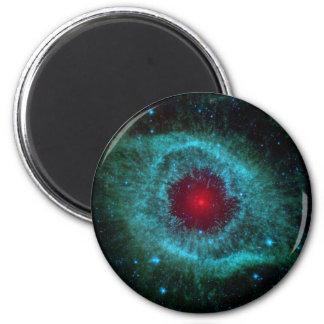 NGC 7293 The Helix Nebula NASA 6 Cm Round Magnet
