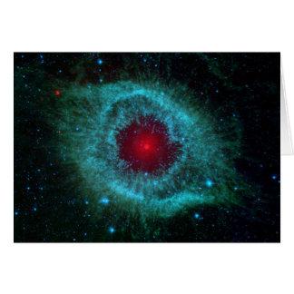 NGC 7293 The Helix Nebula NASA Card