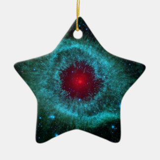 NGC 7293 The Helix Nebula NASA Christmas Ornament