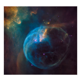 NGC 7635 - The Bubble Nebula Poster