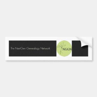 NGGN Black Bumper Sticker